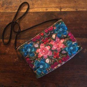 Handbags - Beautiful handbag with Embroidery floral